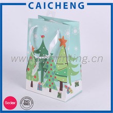 Hot Sale Promotion christmas gift bag,China paper bag for gift