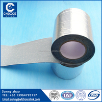1.5mm Aluminized Asphalt waterproofing self-adhesive roofing underlay membrane