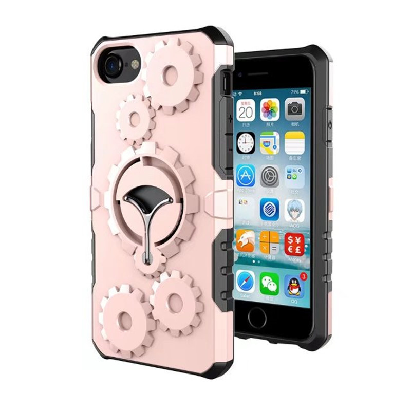 New products 2017 hot wheel gear fancy mobile phone case for iphone 7 tpu shockproof plastic phone case cover for iphone 7 plus