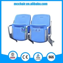 Cancer Outdoor HDPE Plastic Stadium Seating/ GYM Chair/ Arena Seating