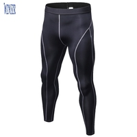 Workout Leggings Gym Basketball Cycling Hiking Rash Guard Performance Running Tights Athletic Base Layer Pants Underwear for Men
