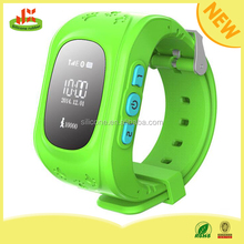 Pedometer childern wrist watch gps tracking device for kids for IOS and Android system