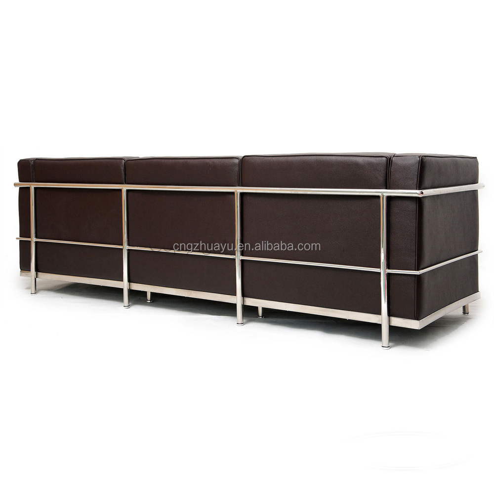 le corbusier lc3 sofa modernen klassiker sofa wohnzimmer. Black Bedroom Furniture Sets. Home Design Ideas
