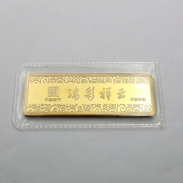 wholesale 1 oz replica gold bars with personalized logo for sale