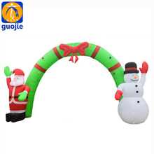 Outdoor event Merry Christmas custom inflatable arch for sports