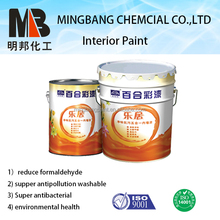Semi gloss interior wall latex paint