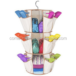 shoes 3 Tiers Smart Carousel Organizer