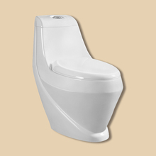 Bathroom Floor Mounted Ceramic Toilet Bowl