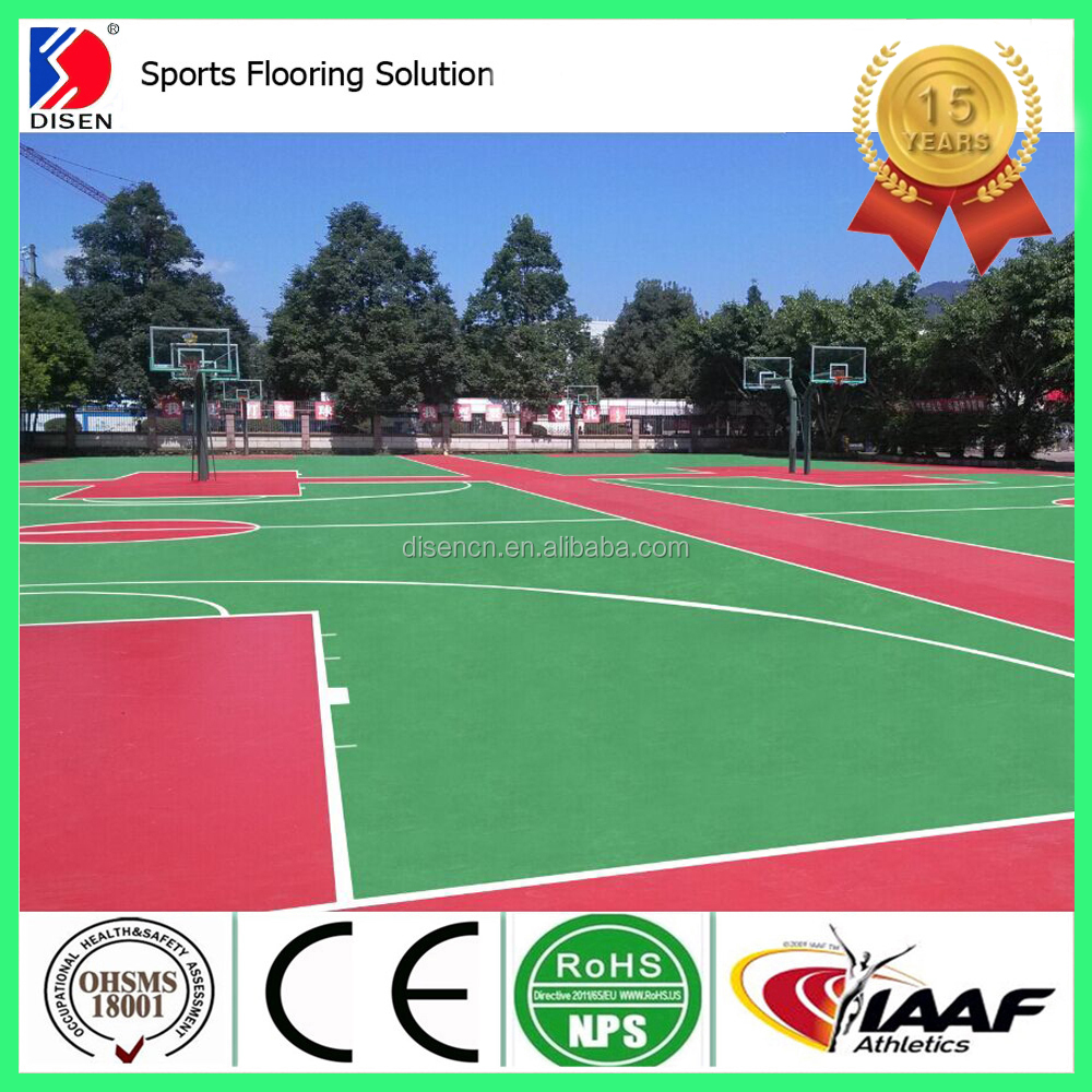 outdoor basketball sports flooring