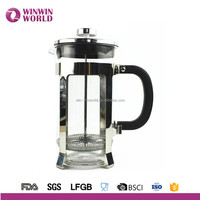 LFGB,FDA,CIQ,CE / EU,SGS,EEC Certification and Double Wall Stainless Steel Metal Type French Coffee Maker Press