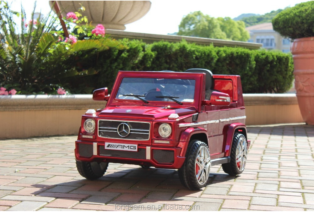 Children Electric Toy Car Mercedes Licensed Jeep Battery Operated Kids Ride On