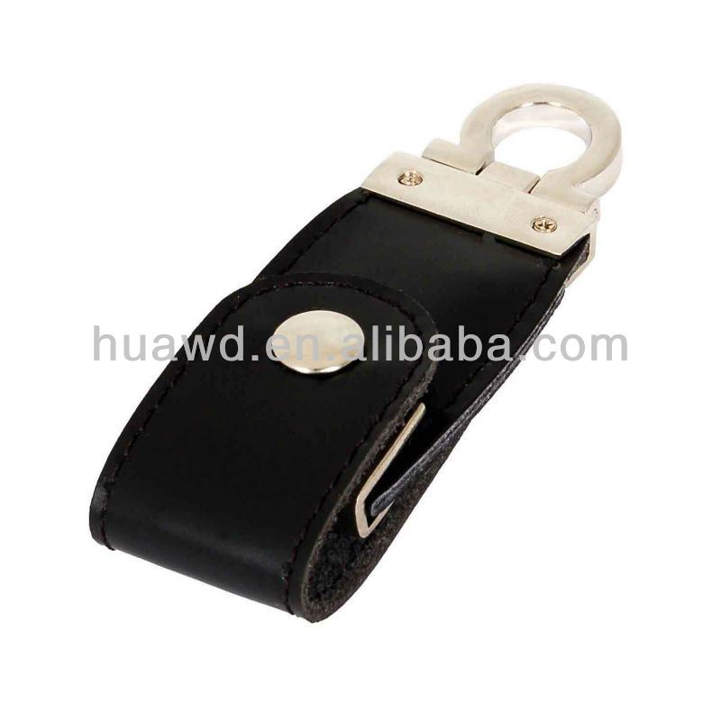 Leather usb memory,usb flash drive security lock