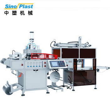 SINOPLAST 4KW Preheating Power Thick Sheet Auto Vacuum Plastic Forming Thermoforming Machine