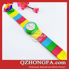 Cheap Wholesale Kids Slap Watches Silicone Jelly Watches Silicone Jelly Silicone Watch