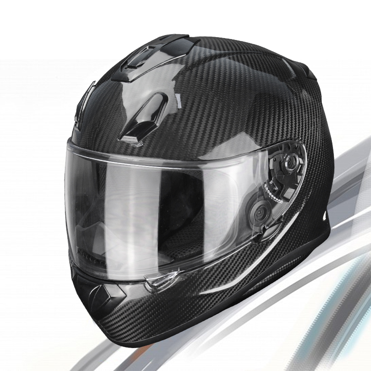 New Design Wholesale China OEM Service Carbon Fiber Cover Custom Motorcycle Helmet Men 2017