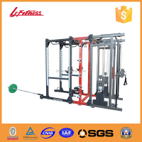 Combo rack new multi functions gym equipment LJ-5006