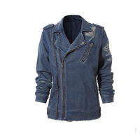 Lady contrast embroided denim jacket for wholesale