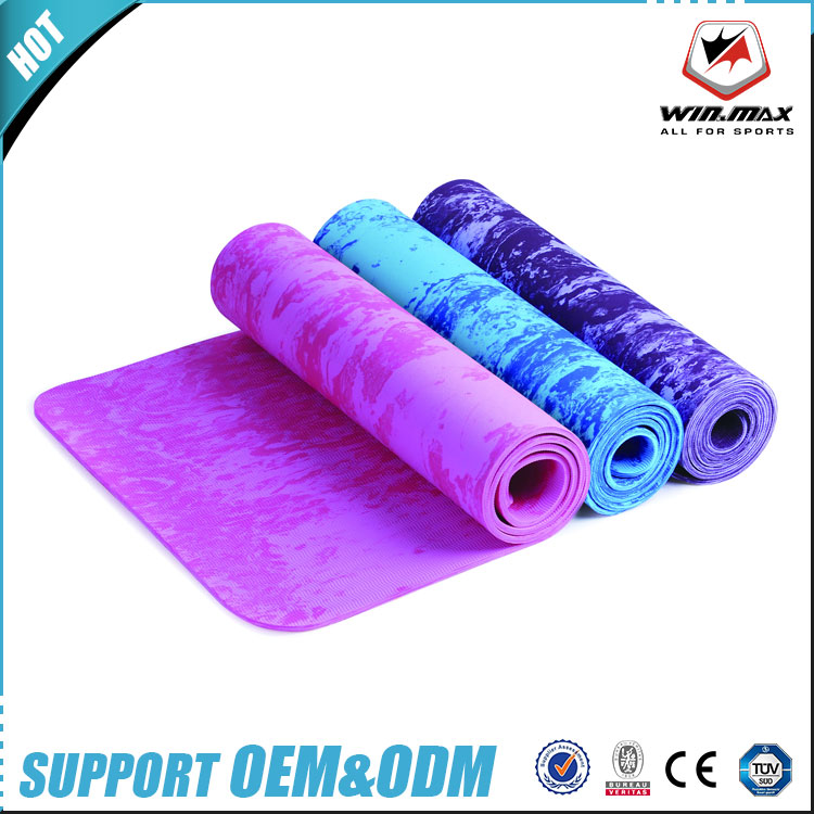 WINMAX Premium quality wholesale <strong>eco</strong> friendly fitness colorful PER yoga mat