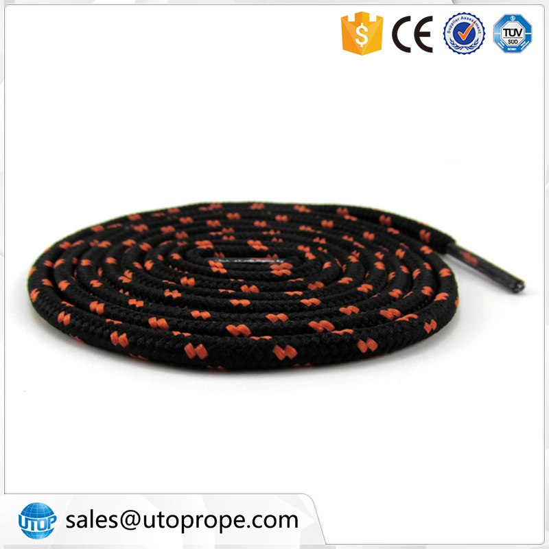 UTOP 4 mm 1.2 m Polyester Silk Dot Round Double Colors Exercise Shoe lace