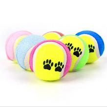 Lovely pet toys dog training toys playing tennis ball for dogs