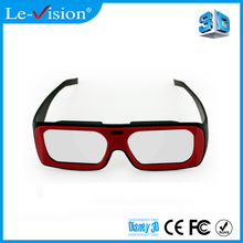 Passive Circular Polarized 3D Glasses Used For Passive 3D TV Cinema DLP Projector