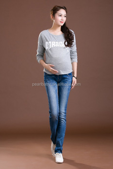 hot sell drop ship maternity jeans,maternity denim ,wholesale maternity jeans