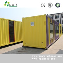 2015 new design luxury one bed room house modular prefabricated container hotel