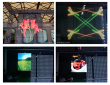 High Transparency High Brightness LED Display Indoor Video Window/Wall Advertising