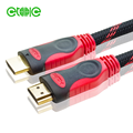 yitaili 1.5m red double color 4k hdmi cable with nylon braid
