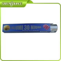 Aluminum for different markets disposable wrap foil roll