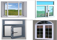 aluminum insuled casement window