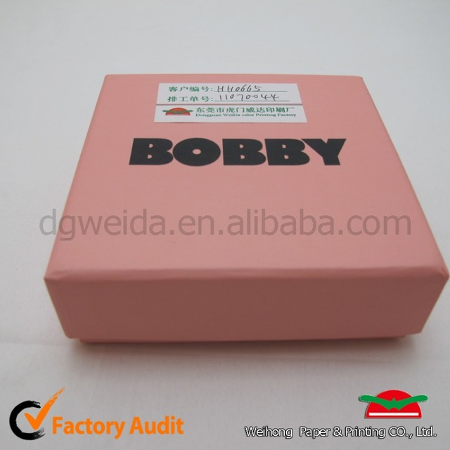 Custom pink Cardboard Boxes Packaging Wholesale Jewelry Paper Gift Box