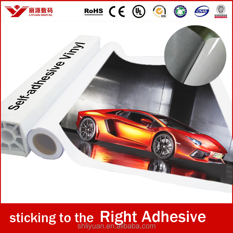 China manufacture pvc self adhesive vinyl self adhesive vinyl film printabl - Rouleau vinyl adhesif ...