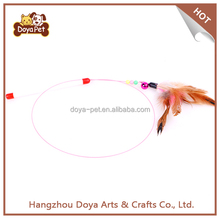 Pet Toy Interactive Rod Cat Catcher Feather Wand