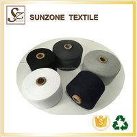 Types of 100% recycled oe polyester cotton carpet yarn 50/50 wholesale china