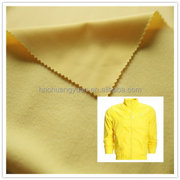 High quality of shining tricot fabric with 100 polyester fashion design sports fabric