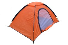 pink layer family cheap outdoor camping tent for 2 person