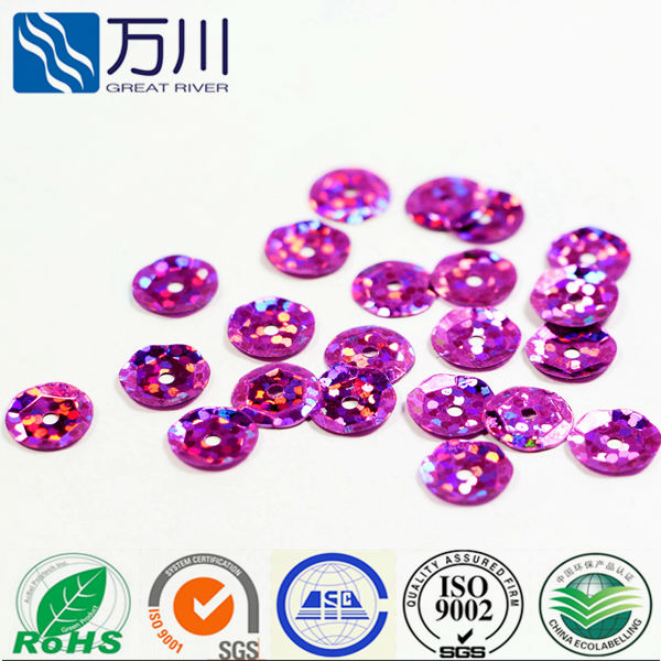 2014 Best Seller Holographic Glitter Sequins For Decoration