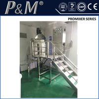 P&M shampoo production line equipment, liquid soap agitator mixer , mixing tank for chemicals
