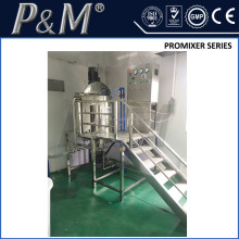 P&M shampoo production line equipment, liquid soap agitator mixer , mixing tank for chemicals