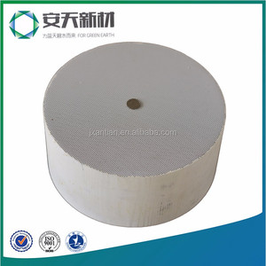 cordierite dpf cleaner diesel particulate filter with round