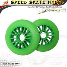 Cheap price High end quality professional inline speed skate wheel, top sale pu inline skate wheel