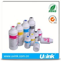 UVINK brand sublimation type glow in the dark printer ink