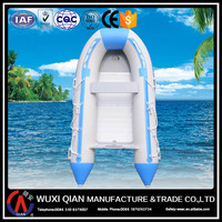 Inflatable boat for leasure