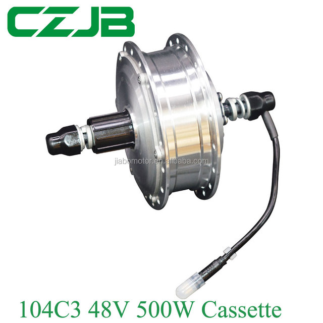 JB-104C3 cassette type electric bicycle wheel hub motor 48V 500W