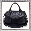Genuine leather travel bags ofiice handbags with long strap crossbody bag