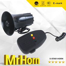 12V Three Sound Siren Horn Electirc Wired Alarm Police Siren Horn for sale