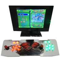 2017 New Home game console with multi game PCB board 680 in 1, Pandora's Box 4s arcade joystick game console