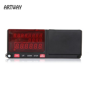Smart digital Taxi Meter with Printer LED screen