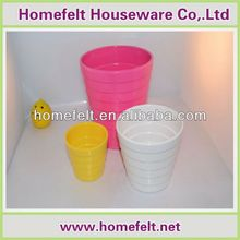 custom design plastic flower pot trays